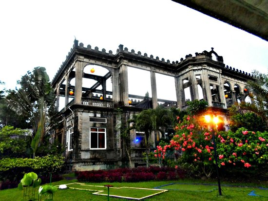 The Structure Picture Of The Ruins Talisay Tripadvisor
