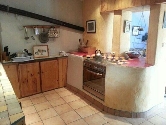 Coat Aillis: kitchen very cute made from old manger