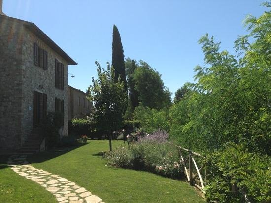 Agriturismo La Torraccia: Il giardino