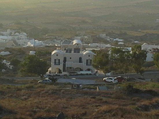 Kiklamino Studios & Apartments : kiklamino vista dalla chiesetta