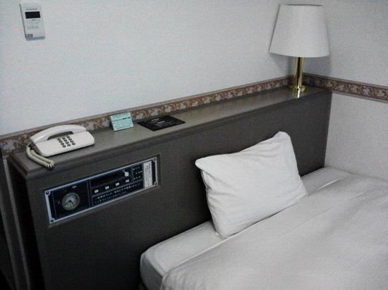 Hotel Alpha One Iwaki: ベッド