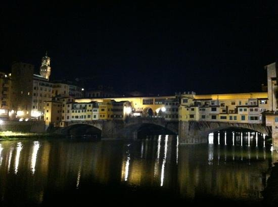 Borgo San Jacopo: View from terrace!