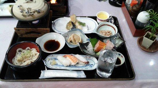 APA Hotel Takamatsu Airport: プランの食事(単独注文だと2000円)