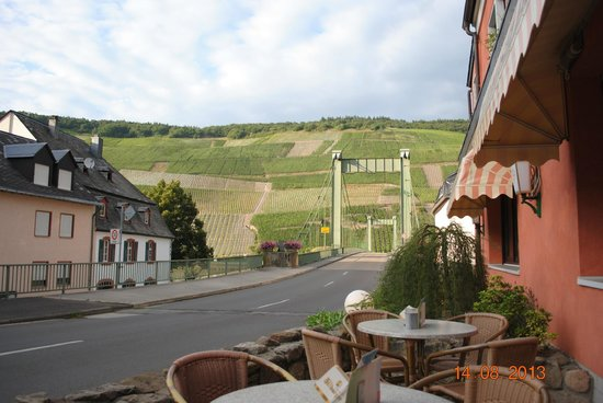 Moselhotel Leyendecker: View from local restaurant