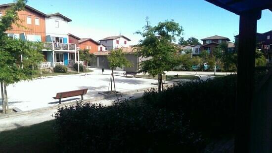 Madame Vacances Residence Les Rives Marines: vue de la terrasse