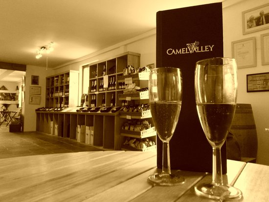 Camel Valley Vineyard: Lovely wine