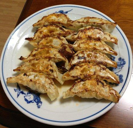 New Yoshida: The dumpling... Looks delicious!