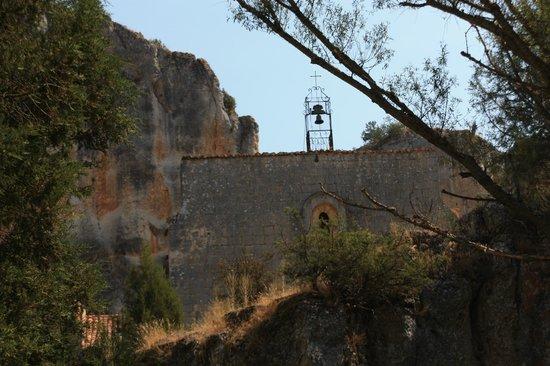 Parque Natural del Cañón del Río Lobos: Ermita.