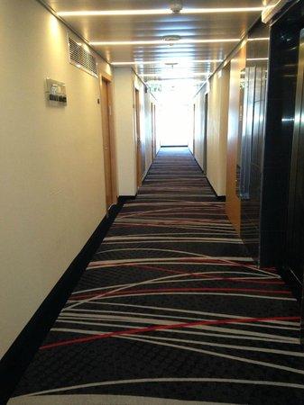 Benjamin Herzliya Business Hotel : Typical floor