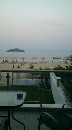 Villa Mediterrane Hotel: the view from our balcony
