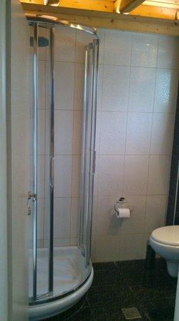 Villa Mediterrane Hotel: The bathroom