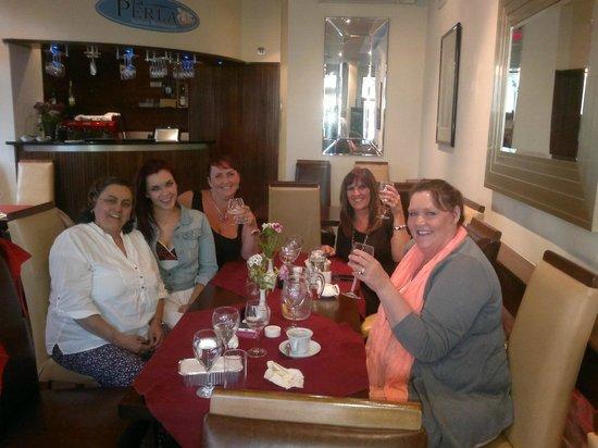 La Perla Restaurant: Girly night out