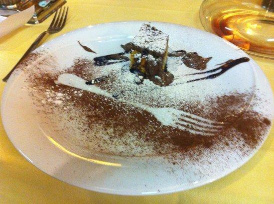 Trattoria del Festival: one of the yummy desserts