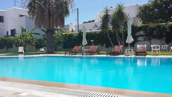 Polos Hotel: Une eau très claire