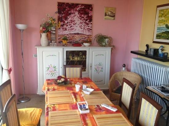 B&B San Lorentino House: veranda-colazione