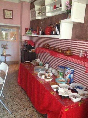 B&B San Lorentino House: buffet colazione