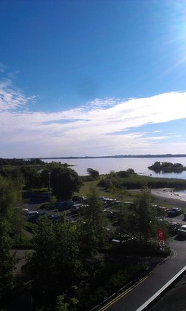 Hodson Bay Hotel : View from the room