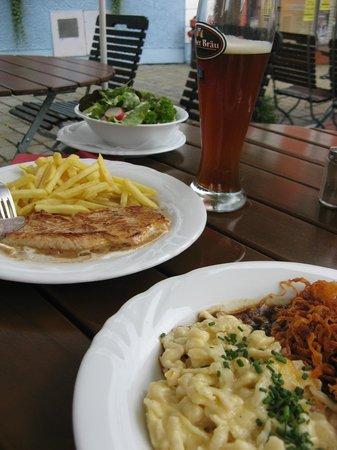 """Hotel Gasthaus """"Zum Kellermann"""": Good food at Hotel Zum Kellermann"""