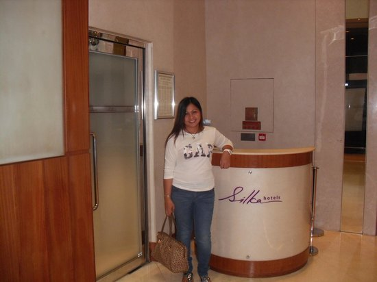 Silka West Kowloon Hotel: at the lobby