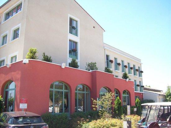 Domaine de Saint-Clair : entrée hôtel