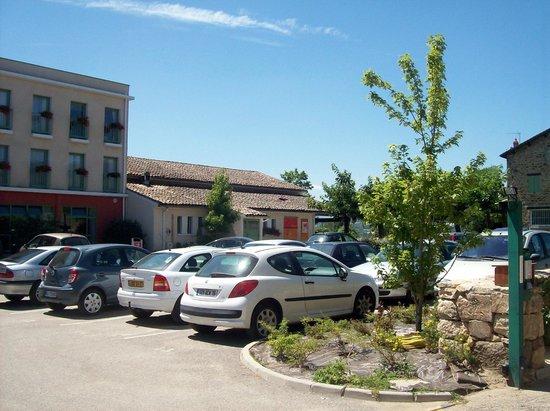 Domaine de Saint-Clair : parking