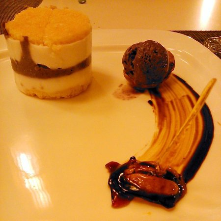 Bluewater Panglao Beach Resort: Kinampay - dessert made from a specific kind of ube (purple yam) found mostly in Bohol
