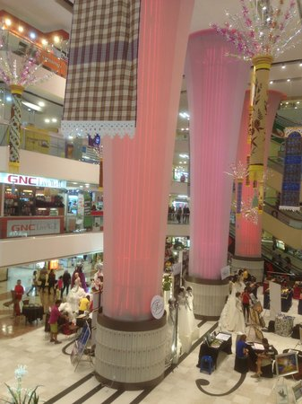 Centre Point Sabah: From the 2nd floor