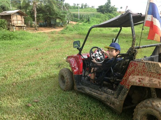 Chiang Rai ATV: Son driving ATV