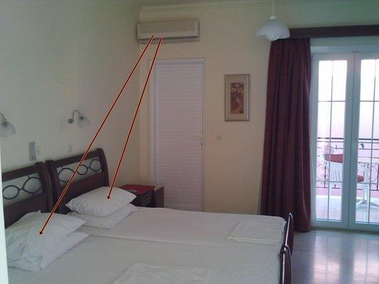 Xenia Apartments: A/C