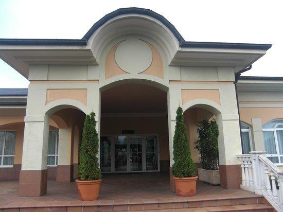 Blanco Hotel Spa: Entrada a uno de los salones para eventos