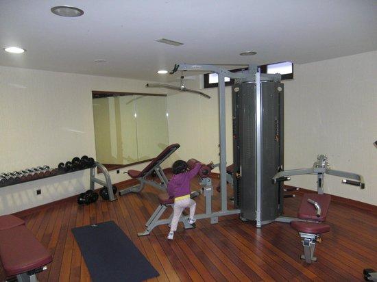 Blanco Hotel Spa: Gimnasio