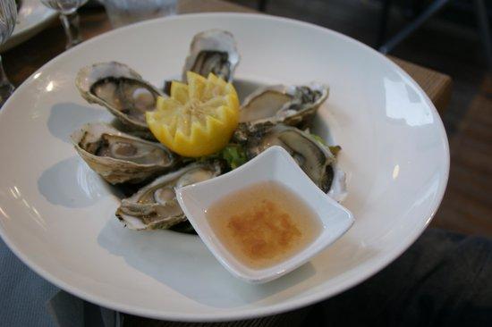 La Ferte: une des 3 possibilités d'entrée du menu de la mer