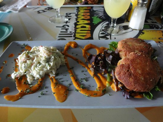 Barracuda's Bar & Grille : Crabcake