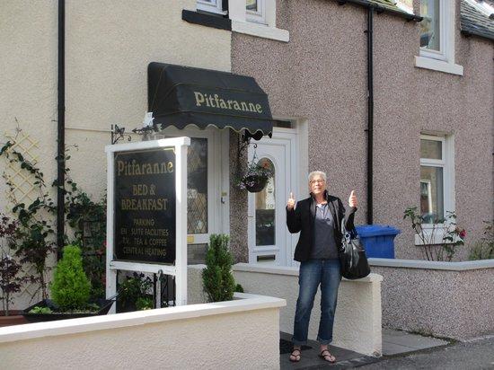 Pitfaranne Guest House: Daumenhoch für Pitfaranne!!!