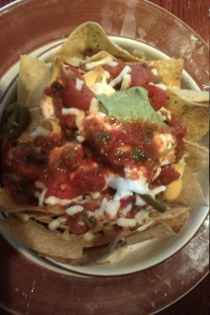 Chiquito - Cardiff Bay - Red Dragon Centre: nachos for one
