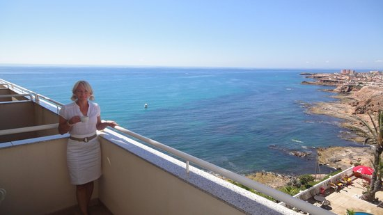 Hotel Masa International: Balcony