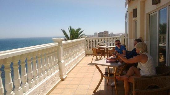 Hotel Masa International: The terrace