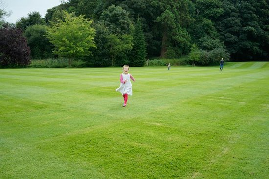 Milsoms Kesgrave Hall : Having fun in the well kept grounds