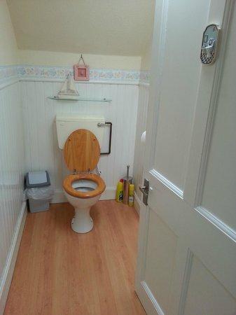 Whitmuir Hall: Yarrow toilet