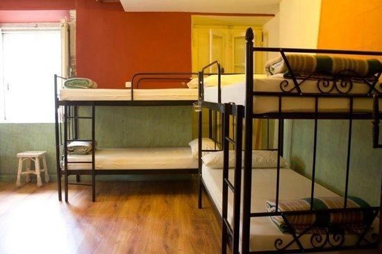 Albergue Don Alvaro: habitación 2 con 10 plazas