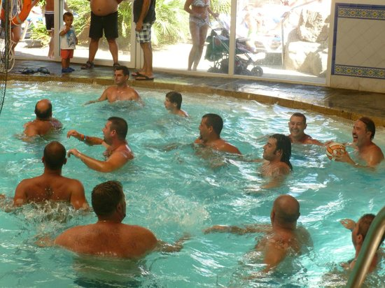 Diverhotel Roquetas: piscina cubierta