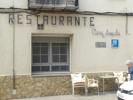 La Iglesuela del Cid, สเปน: Restaurante Casa Amada