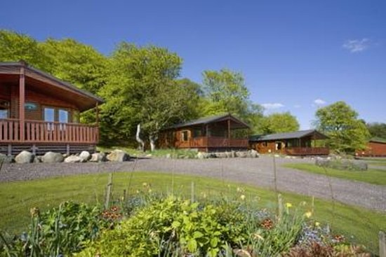 Tralee Bay Holiday Park: Woods lodges