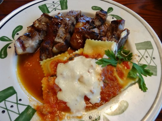 olive garden grilled pork from naples - Olive Garden Naples