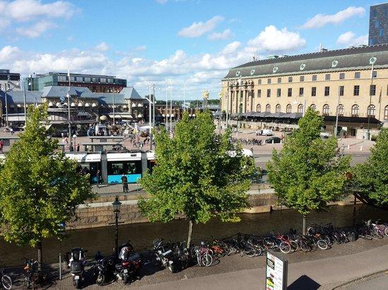Radisson Blu Scandinavia Hotel, Gothenburg: utsikt fra rom 222