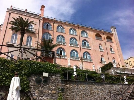 Rossellinis Restaurant : palazzo Sasso
