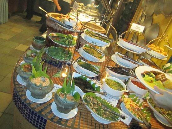 Restoran Rebung Chef Ismail: Raw vegetable area
