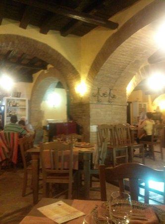 Ristorante La Mangiatoia: vista locale