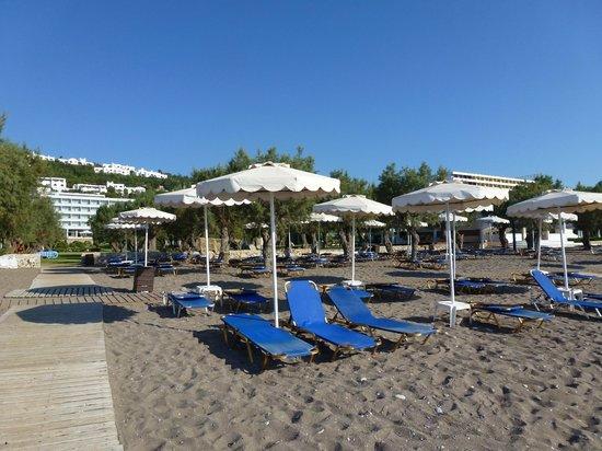 Grecotel Rhodos Royal: La plage