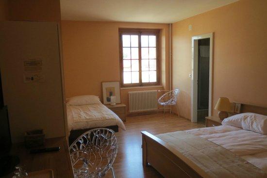 Auberge Communale Les Trois Sapins : Chambre 7 - 2